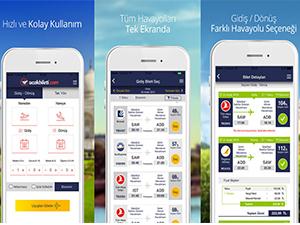 Ucakbileti.com'un mobil uygulamaları ile cepten ucuz uçak bileti