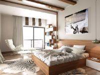 Modern yatak odası Yapmak çok kolay