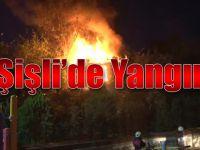 Şişli Yayla Mahallesinde Yangın...
