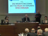 Şişli Belediye Meclisi Nisan ayı 2. toplantısı..