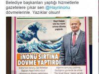 İnönü'nün Dövmeleri Şişli Belediyesini Karıştırdı..!