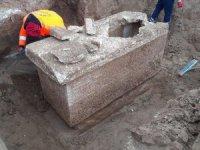 İstanbul Silivri'de Roma dönemine ait lahit bulundu