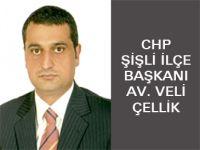 Yeni CHP Şişli İlçe Başkanı Veli Çellik