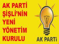 Ak Parti Şişli'nin yeni yönetimi