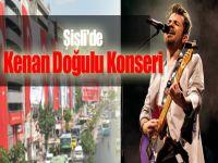 Şişli'de Kenan Doğulu Konseri