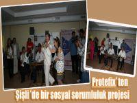 Protefix'ten, Şişli'de bir sosyal sorumluluk projesi
