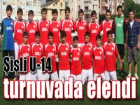 Şişli U-14 turnuvada elendi