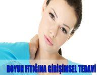 Boyun fıtığına girişimsel tedavi