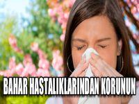 Bahar Hastalıklarından Korunun
