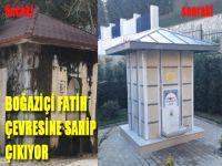 Boğaziçi Fatih Koleji çevresine sahip çıktı