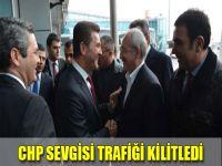 CHP Sevgisi Trafiği Kilitledi