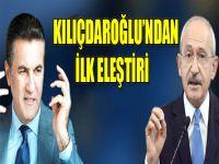 Kılıçdaroğlu ilk kez Sarıgül'ü dolaylı eleştirdi