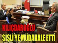 Kılıçdaroğlu Şişli'ye müdahale etti