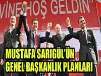 Sarıgül'ün  genel başkanlık planları