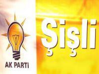 Ak Parti Şişli yönetimindeki görev dağılımı