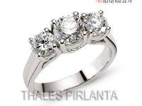 Thales Pırlanta Klasik Alyans Modelleri