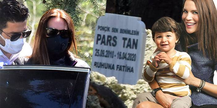Ebru Şallı'nın oğlundan bu görüntüler kaldı! 'Anneme aşığım'