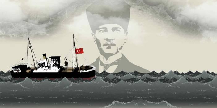 Ata 100 yıl sonra Samsun'a sanal ortamda uğurlanacak