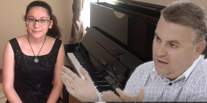 Şişli'deki müzisyen öğrenciye Korkmaz Karaca sahip çıktı